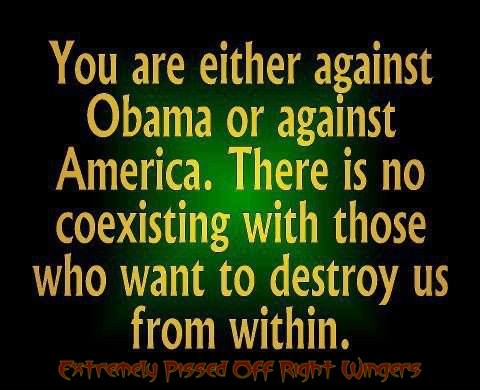 Against obama