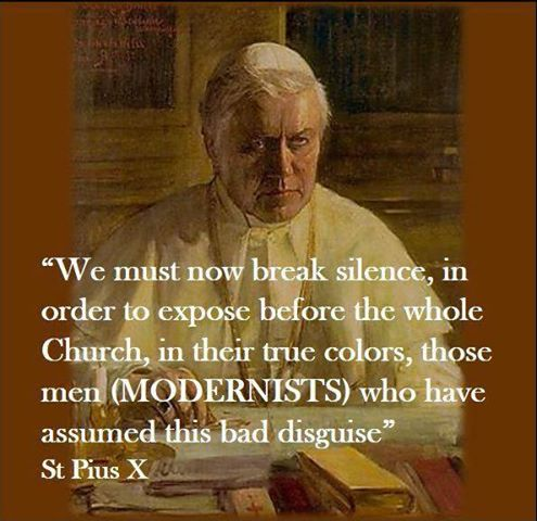 modernists pius X
