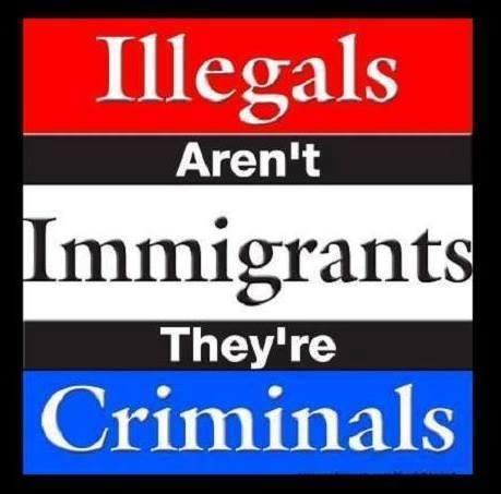 illegals are criminals