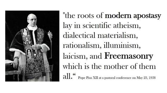 apostasy-modernism  Ven. Pope Pius XII