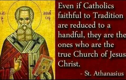 Catholics faithful to tradition