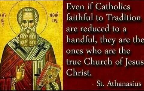Catholics faithful to tradition
