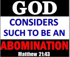 sodomy abomination to God!!