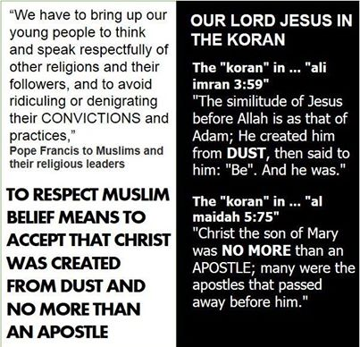 muslim koran what they say about Jesus