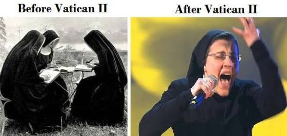 vatican II religious sister before and after vatican 2