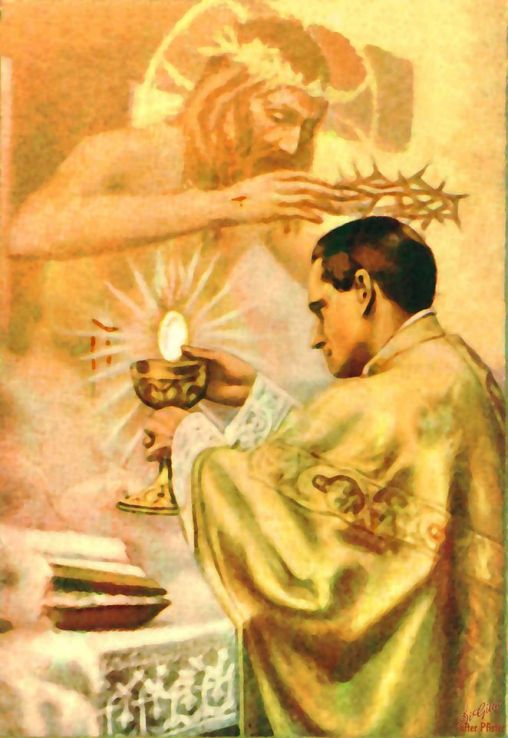 holy mass holy priests