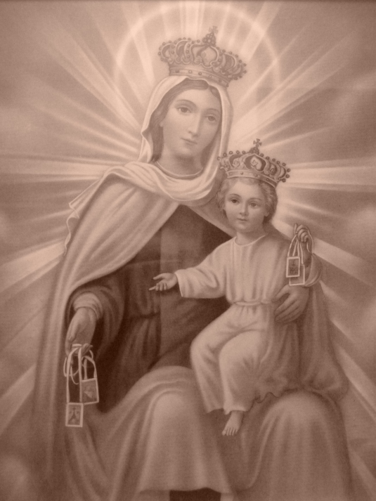 our lady of mount carmel day 8