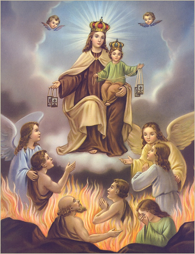 our lady of mt carmel scapular