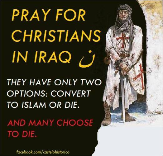 pray for christians in the middle east