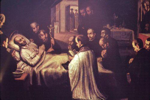 St Ignatius Death