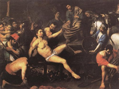 august 10 feast day  martyrdom-of-st-lawrence