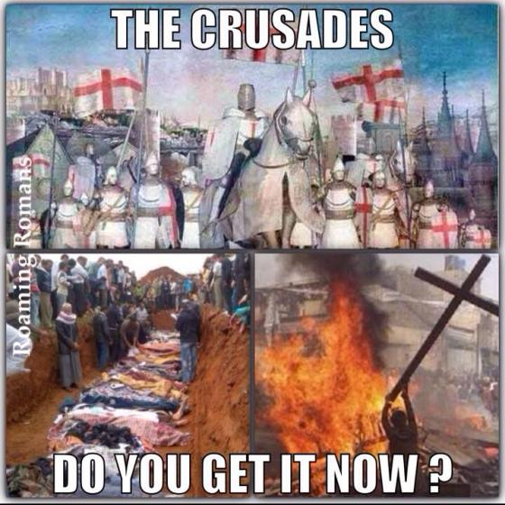crusades do you get it now