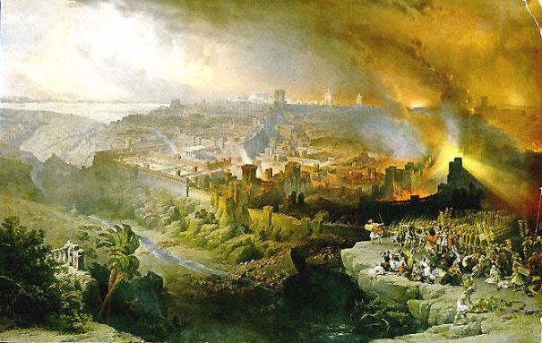 death of the sinner destruction of Jerusalem