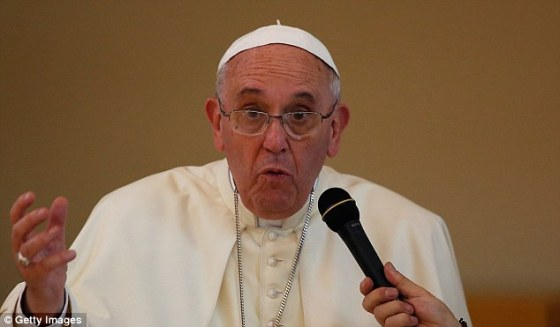 francis koreas skips prayer