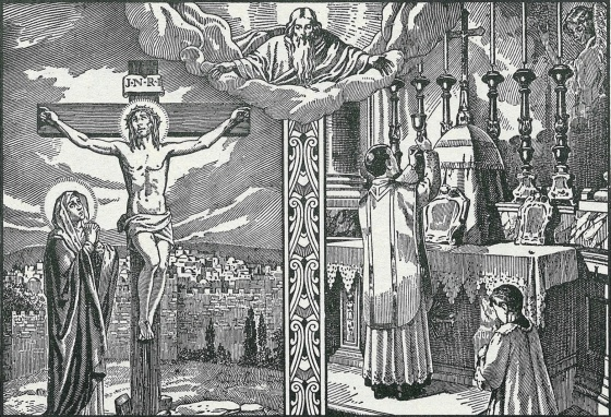 holy sacrifice of the mass after pentecost