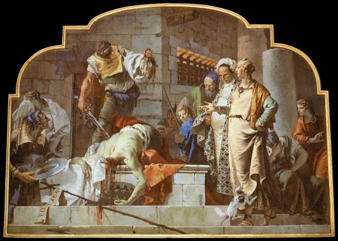 john the baptist beheading