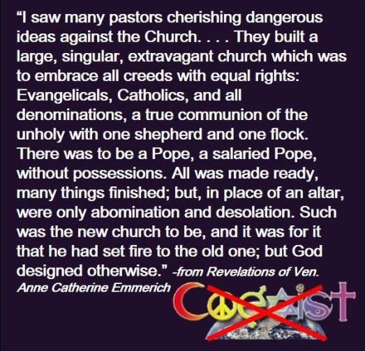 Newchurch of Bergoglio