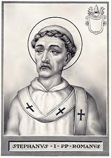 Pope Stephen I aug 2