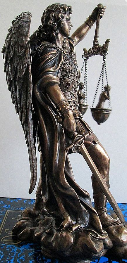 saint-michael-statue-weighing-souls