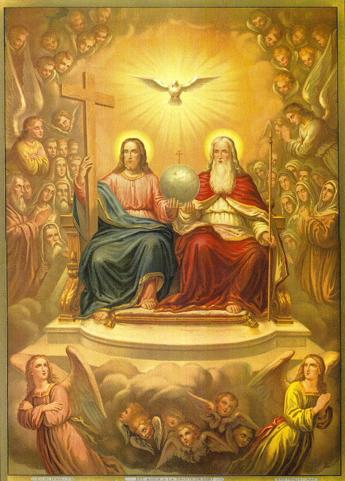 SANCTUS, Sanctus, Sanctus, Dominus Deus Sabaoth. Pleni sunt caeli et terra gloria tua.