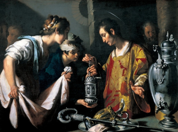 St. Lawrence Distributing the Riches of the Church