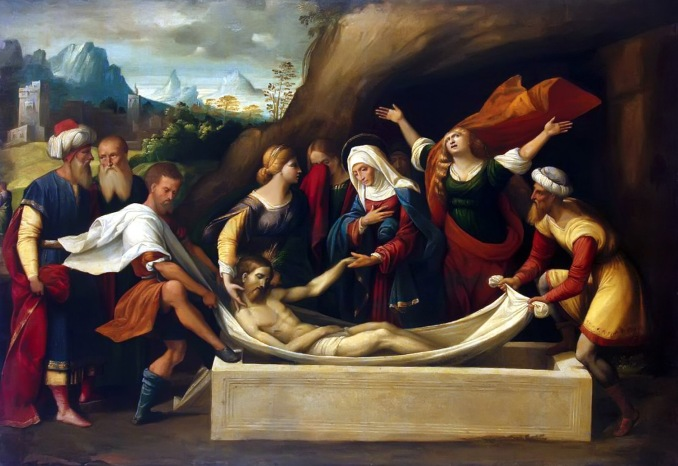 The Entombment by Garafalo c. 1520