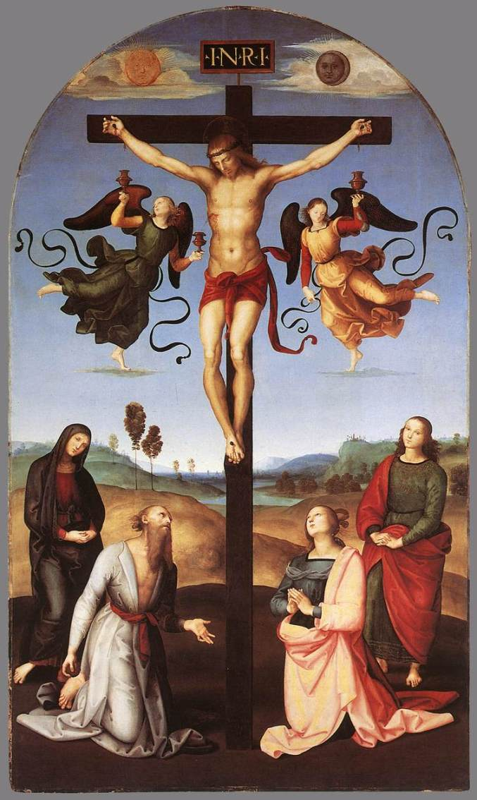 Exaltation of the Holy Cross - INTROIT Raffaello - Crucifixion