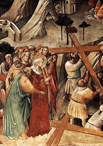 FINDING THE TRUE CROSS -Agnolo_Gaddi_True_Cross_Detail_1380