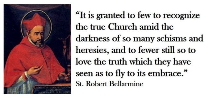 heresy robert bellarmine