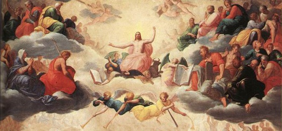 Holy Helpers the saints in heaven