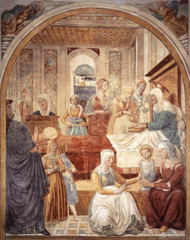 Feast of the Nativity of the Blessed Virgin Mary dans images sacrée