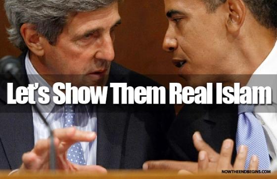 Pro - Islamists John-kerry-barack-obama
