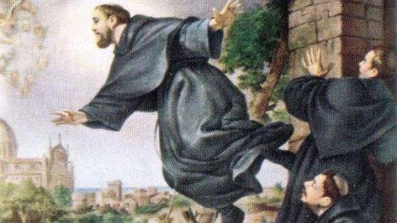 Saint Joseph of Cupertino - Patron saint of air travel sept 18