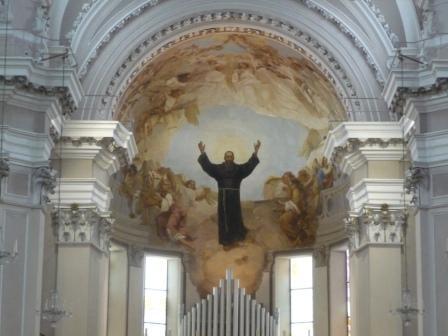 sept 18 Painting_in_Basilica's_Saint_Joseph_of_Copertino,_Osimo