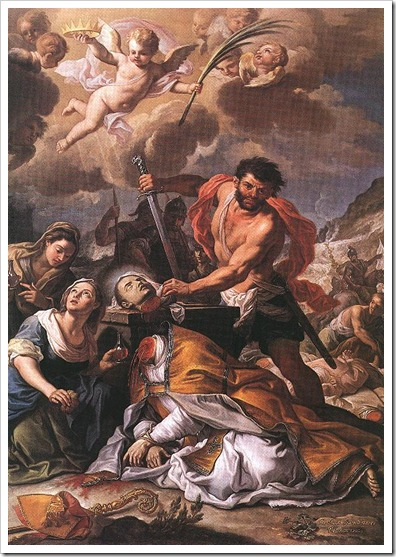 sept 19 SAINT JANUARIUS AND HIS COMPANIONS Martyrs
