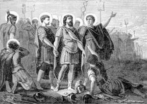 Sept 22  Saint Maurice and His Companions, Martyrs