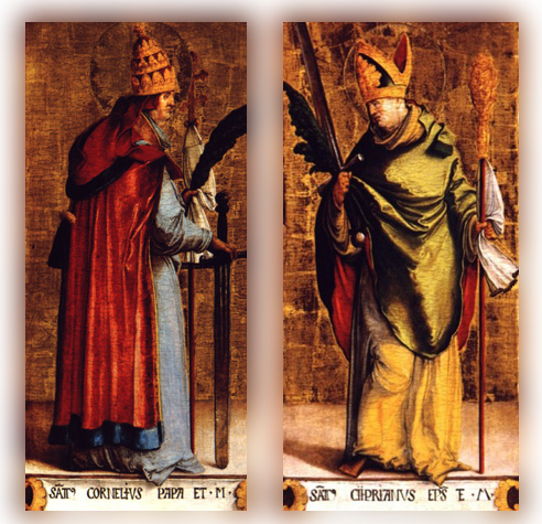 September 16 - Sts. Cornelius and Cyprian
