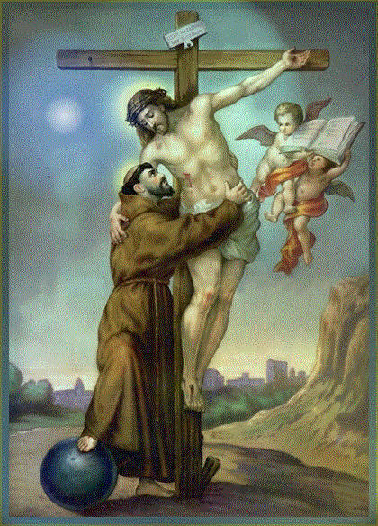 September 17  - St Francis at the cross