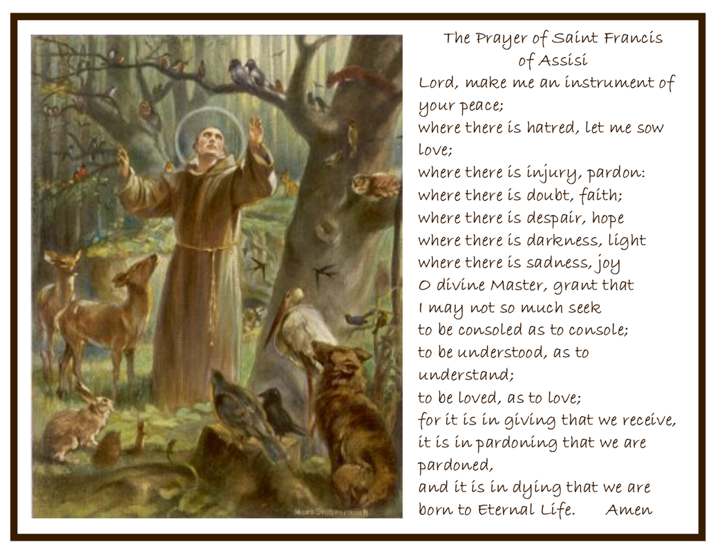 a brief biography of saint francis of assissi Project gutenberg's life of st francis of assisi,  st francis and innocent iii, 88  hailed the new-born revolution.