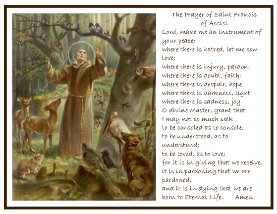 St. Francis Of Assisi - Prayer
