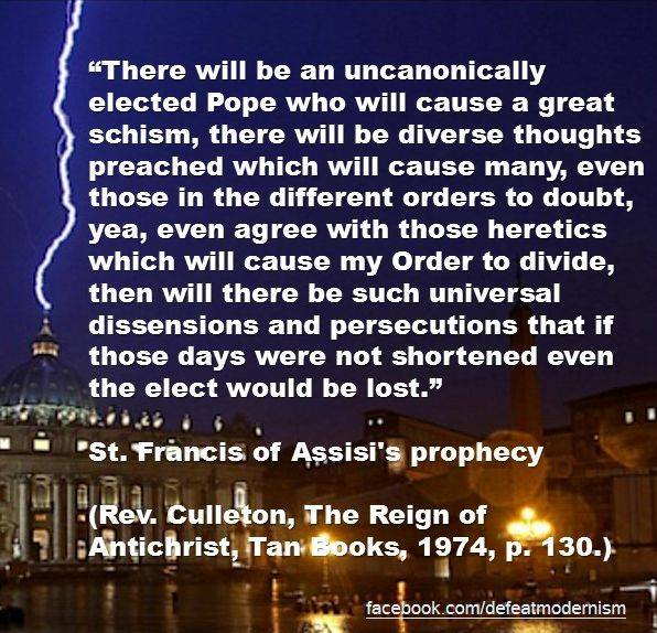 st francis prophecy