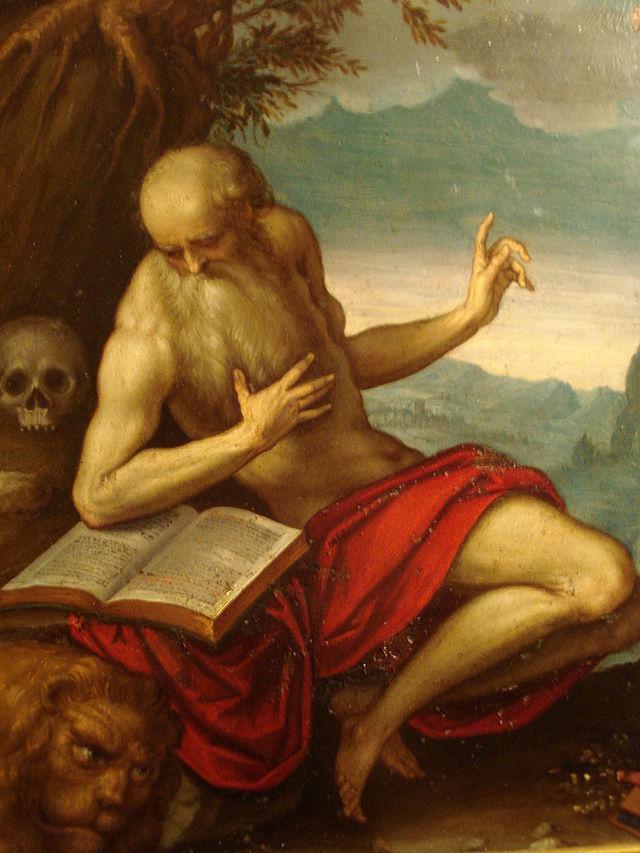 St. Jerome -  Jacopo Palma il Giovane