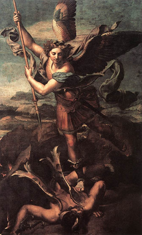 St. Michael Archangel_and the Devil_RAFFAELLO Sanzio
