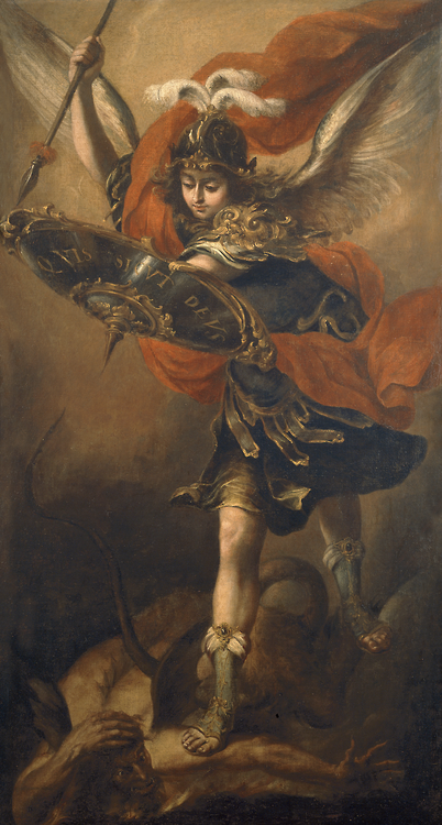 St. Michael - Valdes Leal Juan - San Miguel Arcangel ; Museo del Prado, Madrid, Espanha; 1656