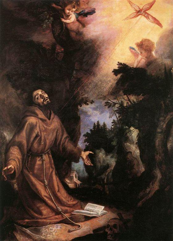 Stigmata  St. Francis 2