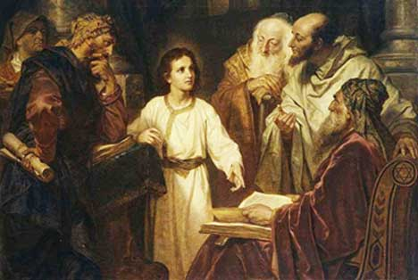 Third Dolor Loss of the Child Jesus In the Temple