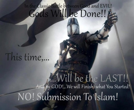 time for another crusade No islam