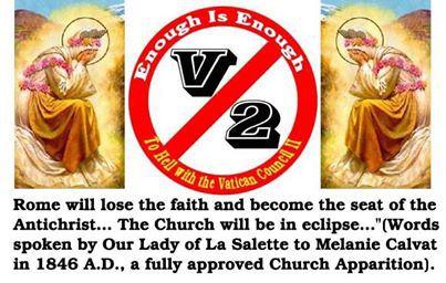 Vatican II  ROME WILL LOSE THE FAITH