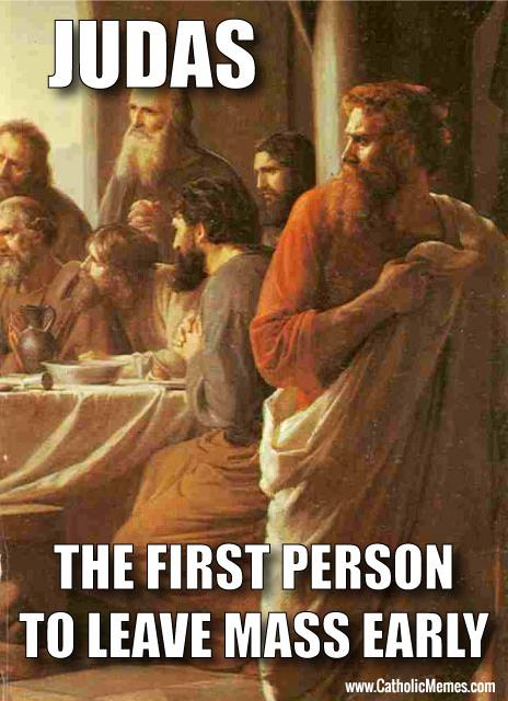 The first sacrilegious Communion was committed by Judas Iscariot!