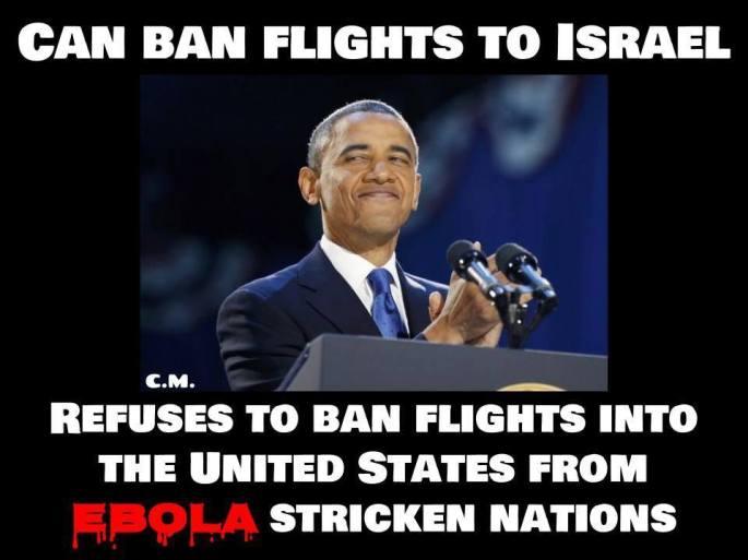 obastard refuses to ban flights
